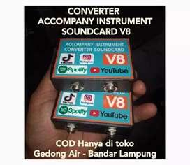 Converter soundcard V8 sound card