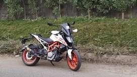 Fully loaded Ktm 390 duke ABS up for sale
