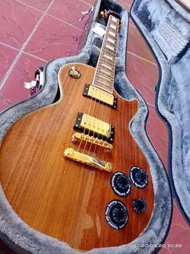 Epiphone Limited Edition Les Paul Custom Pro Koa Electric Guitar