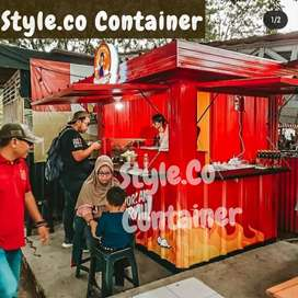 BIG SALE AWAL TAHUN | BOOTH CONTAINER CUSTOM | CONTAINER FRANCHISE