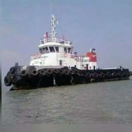 Dijual tugboat 180 ft