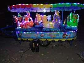 mainan kuda genjot odong kereta panggung murah meriah DCN