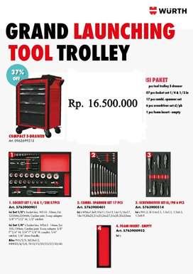 Tools Trolley 5 Drawer