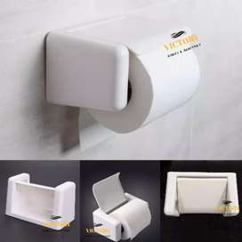 Dispenser Tissue Roll 2 in 1 Minimalis + Tempat Wadah Cas HP Smartpho