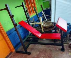 Multi incline, flat bench with preacher curl