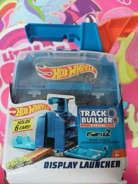 Mainan anak hotwheels track builder ori