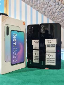 "Redmi Note 8 4/64GB mulus"" original 100% bergaransi"