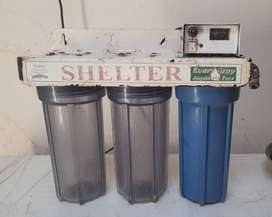 Shelter water filter