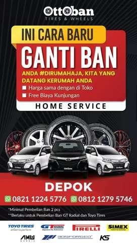 Ban Merk Accelera 205/50 R15 PHI R untuk Mobilio Yaris Mazda2