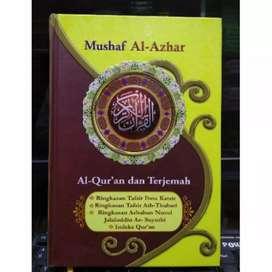 Al Quran Mushaf Al Azhar Terjemah A5 HC