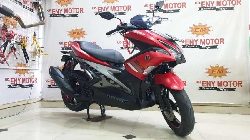 02. Yamaha AEROX 155 th 2018 mokas bergaransi#Eny motor#
