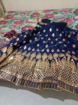 New Lengha unstitched