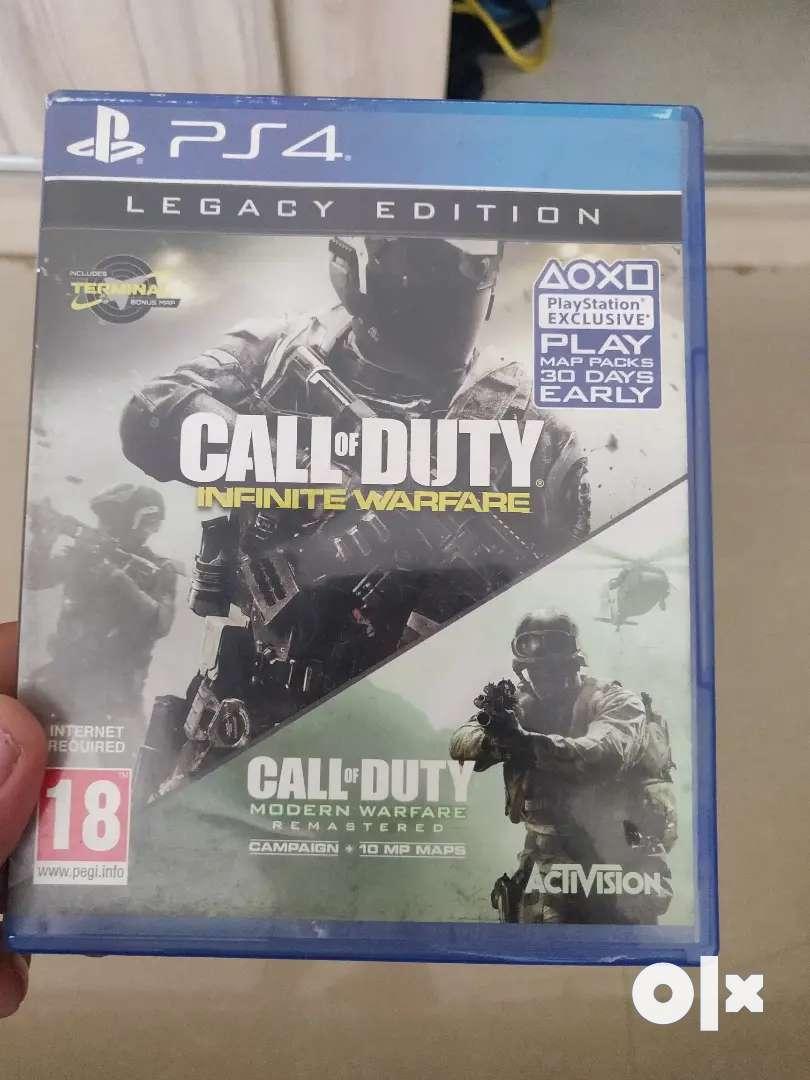 PS4 call of duty infinite warfare 0