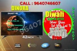 "55"" Thin Pro Fully smart 4K IPS UHD 50% OFFER IPS LED TELEVISION"