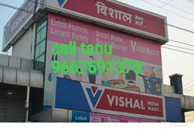 Need 15 candidates in shopping mall for freshers candidates