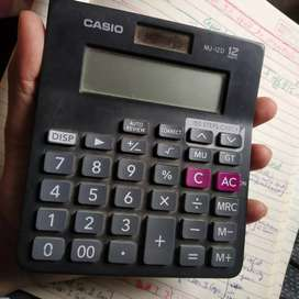 Calculator casio mj12d