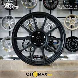 Velg Mobil Pro Racing (2X113) Ring 18 Matt Gunmmetal