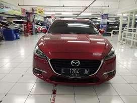 Mazda 3 2.0 GT AT Matic Triptonic 2017 Merah KM 9.000 Asli Moonroof