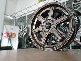 Velg Racing Ring 15x6,5 Utk Mobil Wagon, Datsun, Mirage, March