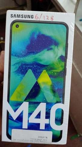 GALAXY M40 6GB 128GB rs 18000/-
