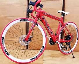 Neo road bike with shimano 21 gears