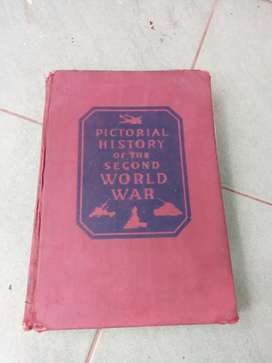 Buku Kuno Pictorial History Of The Second World War
