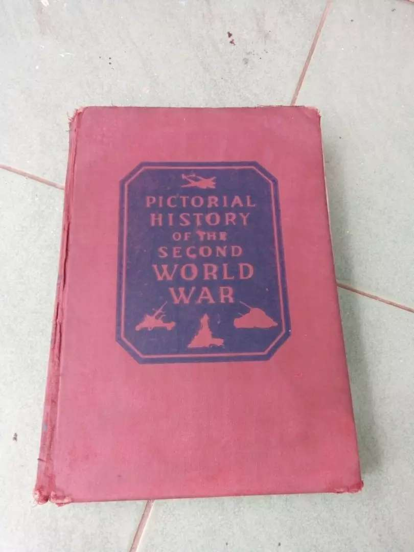 Buku Kuno Pictorial History Of The Second World War 0