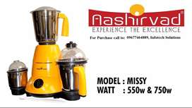 Ashirvad Mixer Grinder - New with 1 Year Warranty