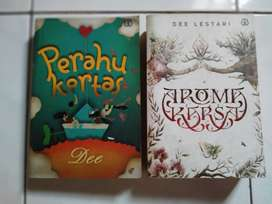 Paket Novel Dee Lestari isi 2