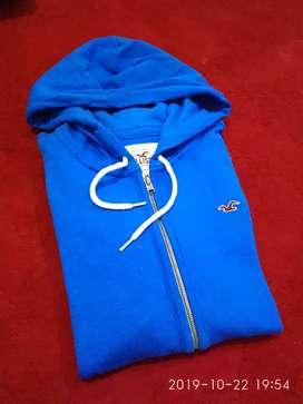 Zipper Hoodie HOLLISTER Original Size M