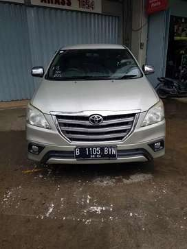 Toyota Grand New Innova 2.0 Type G Manual Tahun 2014