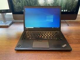 Lenovo ThinkPad T450 Core i7-5/6th Gen 8GB RAM 256GB SSD
