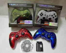Gamepad Stick Bluetooth Wireless 6 in 1 PS2 PS3