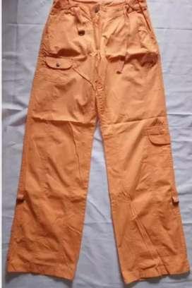 Celana cargo anak remaja ABG merk C&A import Eropa katun murah
