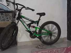 Tiger big tyre cycle
