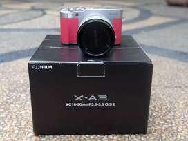 Fujifilm XA3 + Kit 16-50mm FFID april 2020 Like New
