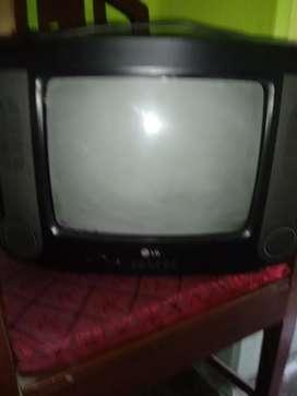 LG portable TV.
