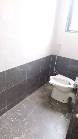 1BHK flat on rent immediately for all with western toilet