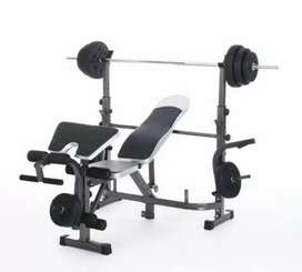 Bench Press dengan beban 40kg