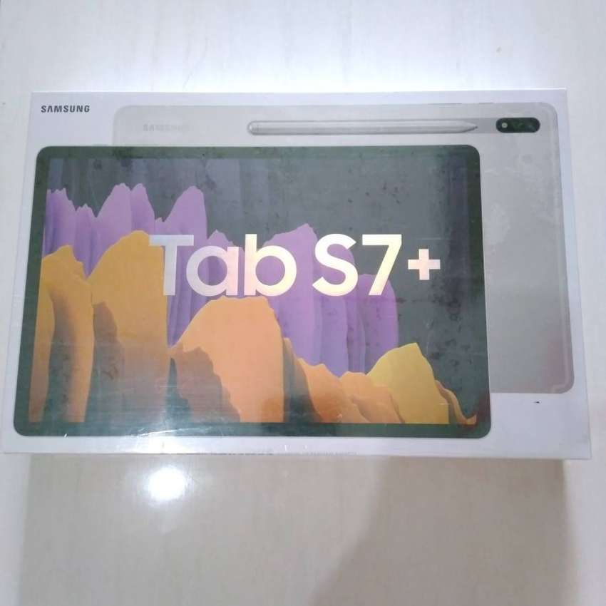 Samsung Galaxy Tab S7 Plus 256GB Grey BNIB SEIN Boleh Cash COD