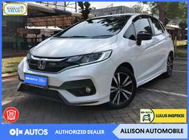 [OLXAD] Honda Jazz RS CVT Bensin AT 2019 Putih #PartnerTerpercaya