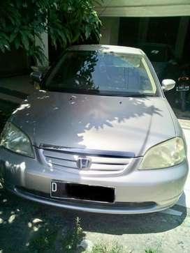Civic Vti-S matic 2003 silver km rendah