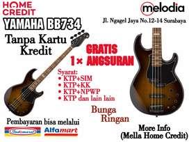 Promo Kredit YAMAHA BB734 Syarat KTP+SIM di Melodia Musik Surabaya
