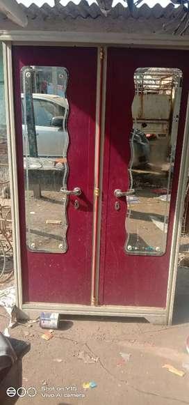 Almirah new double door almirah