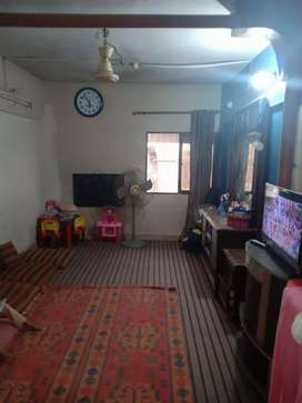 Urgently sale bed lounge 4th floor well furnished in F.b.area block 16