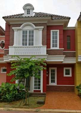 Rumah Bagus, Baru, Full Furnish, Cluster Malibu Village Gading Serpong