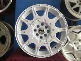 Velg Rally style HSR R16X7 H8X100-114,3 ET45 wheels kingdom surabaya