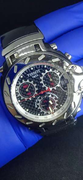 Jam Tissot second  moto GP  spesial edition
