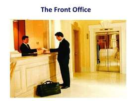 Front office Manager/Cashier