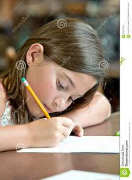 Gov approved writing work